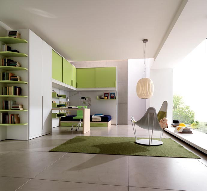 best nice house interior.  Click to enlarge image kids room ideas16 jpg 30 green cool and original interiors for kid s