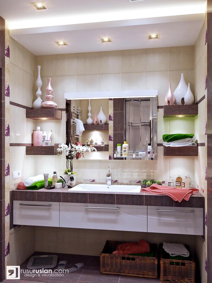 7 inspiring bathroom ideas for Purple and brown bathroom ideas