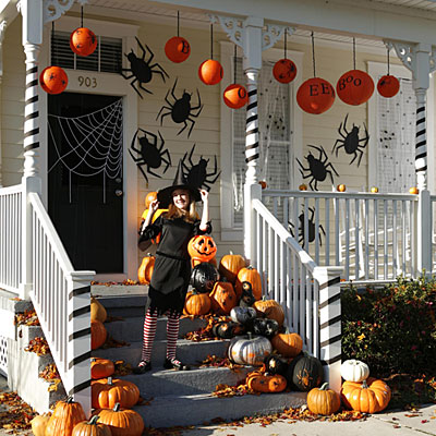 Decorating for halloween - Decoration maison halloween ...