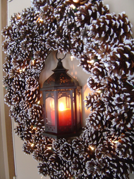 Christmas decoration with pine cones for Decoration 6
