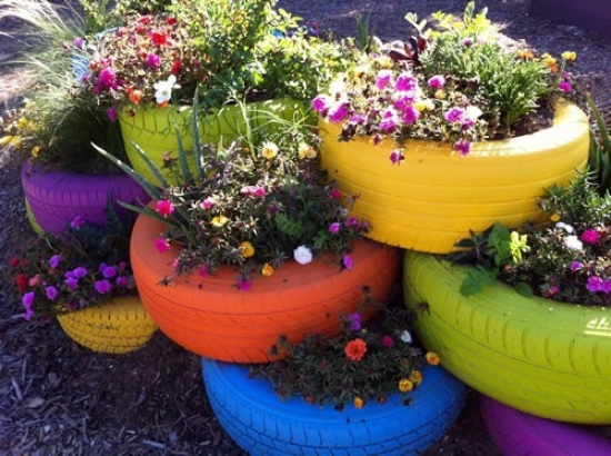 Colorful Garden Decoration