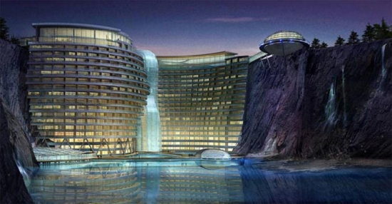 5 Star Hotel in China - WaterWorld