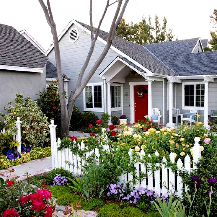 Small front yard landscaping idea how to for Small front garden