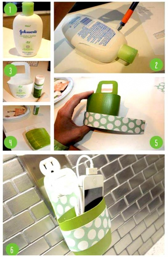 Create ideas from old shampoo bottle