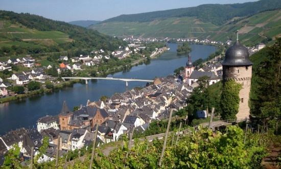 Zell Moselle Valley, Germany
