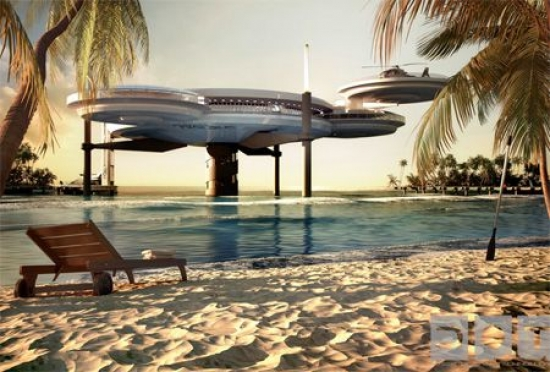Hotel in Dubai with ... Underwater Rooms