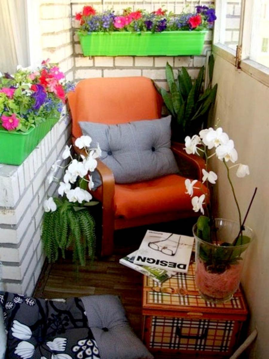 Необычные идеи для балкона роскошь и уют.