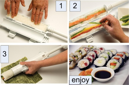 Home Sushi Maker - quick and easy