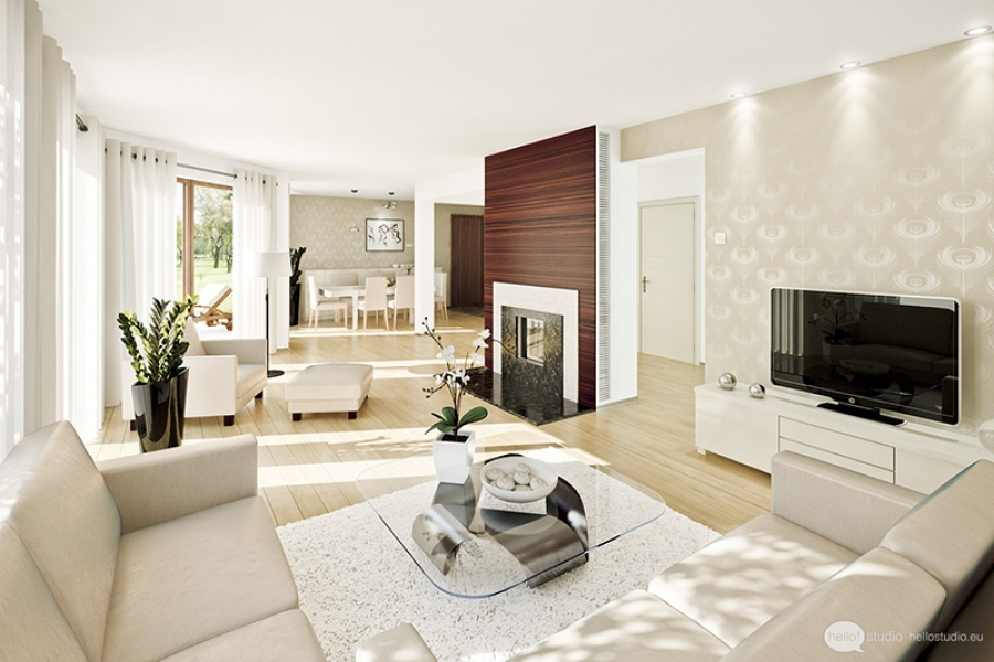 Elegance And Style In The Living Room