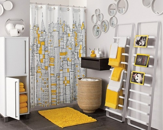 21 Ideas for Yellow Sunny Bathroom