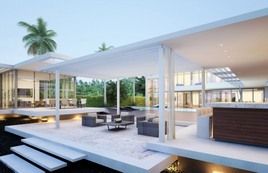 32 millions for ... modern Miami Beach Residence