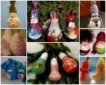 Christmas decorations from incandescent bulbs