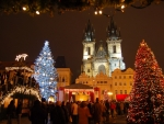 Prague in Christmas time
